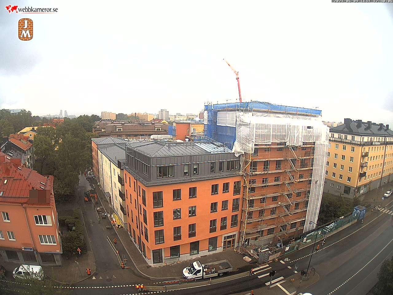 Webbkamera - JM bygger Råsunda101