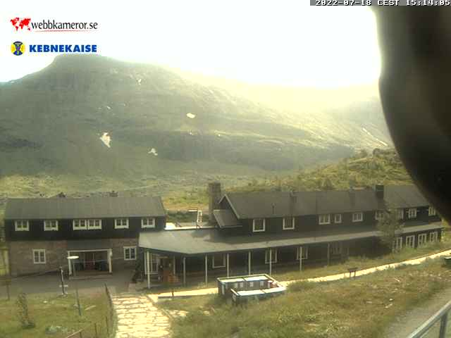 Webbkamera - Kebnekaise fjällstation
